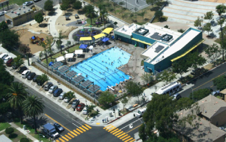 Pool Aerial - Sustainable Site