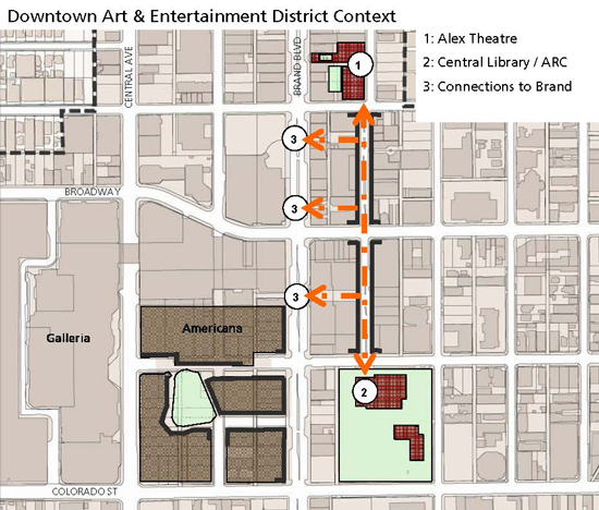 AE-District Project Area Map