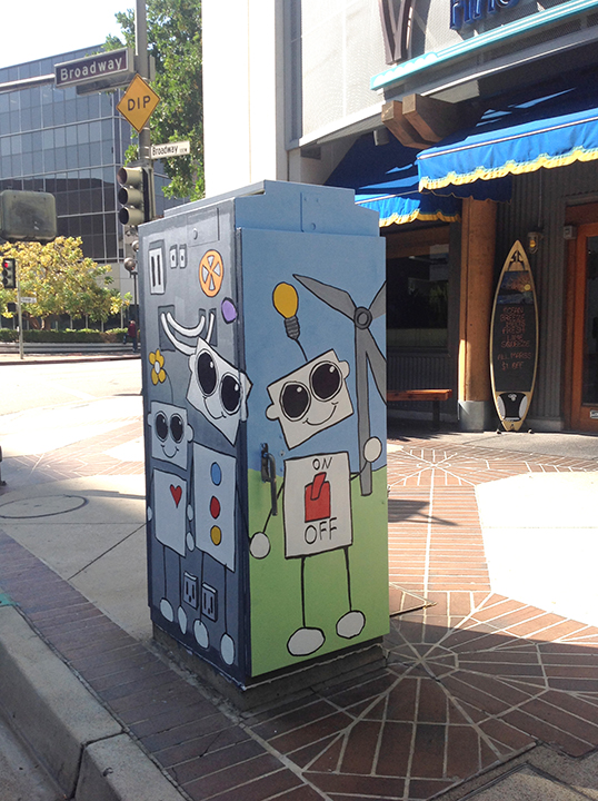 Robots in Glendale - N Orange & W Broadway