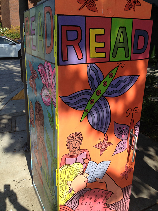 READ - SE Corner Central & Broadway