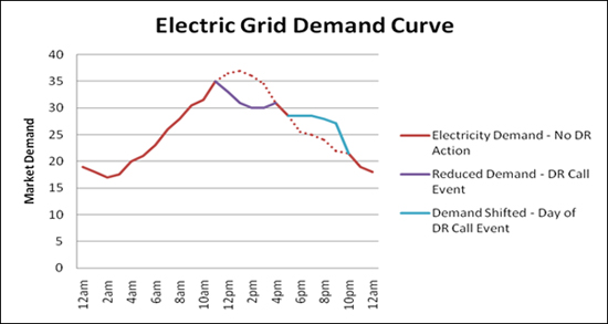 Electric Grid Demand Curve