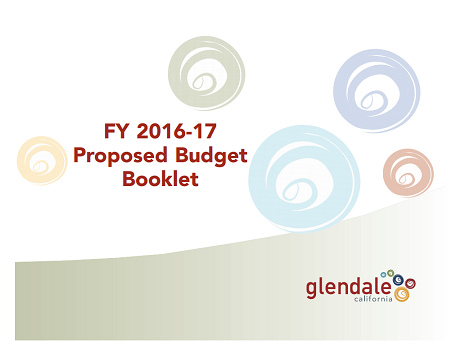 Proposed Budget Booklet
