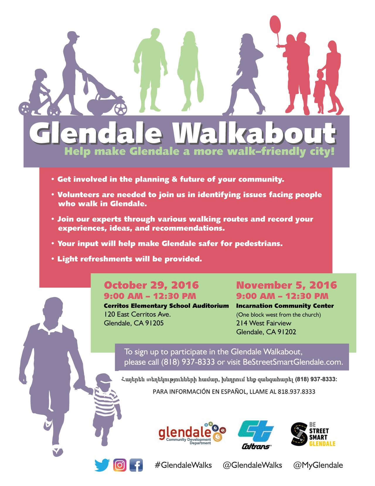 Glendale Walkabout Flyer