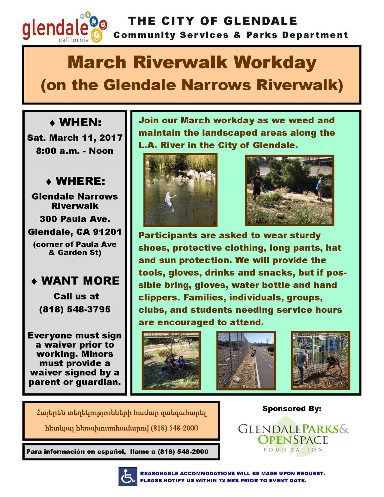 March2017 Riverwalk Workday