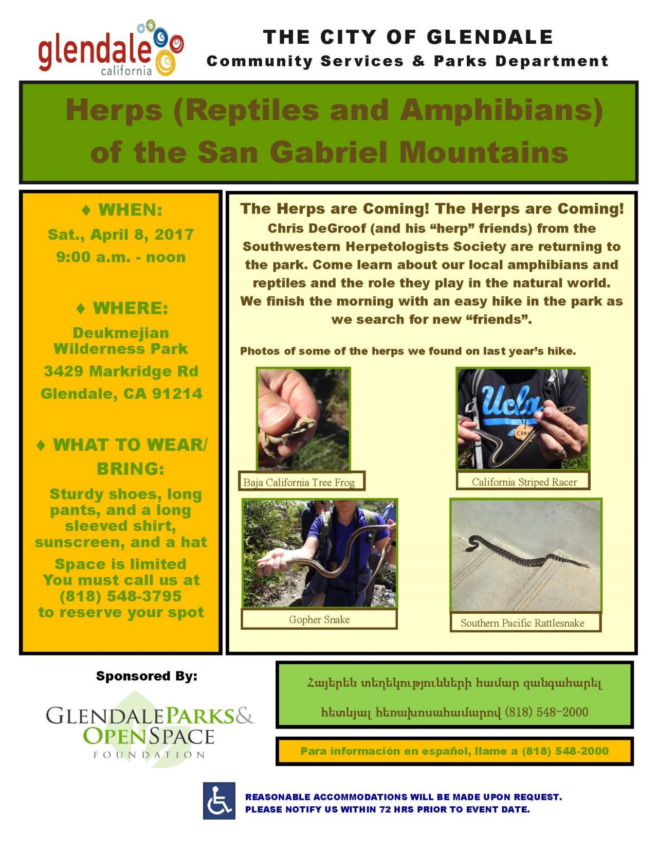 Herps Hike April 2017