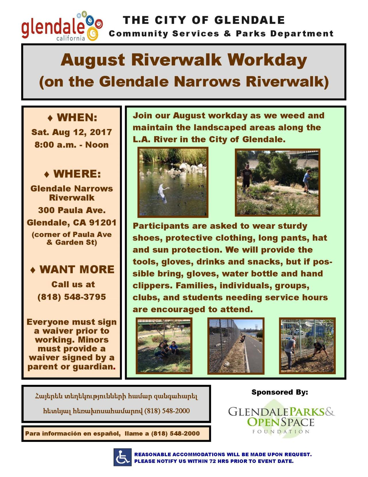 Riverwalk Workday Aug2017