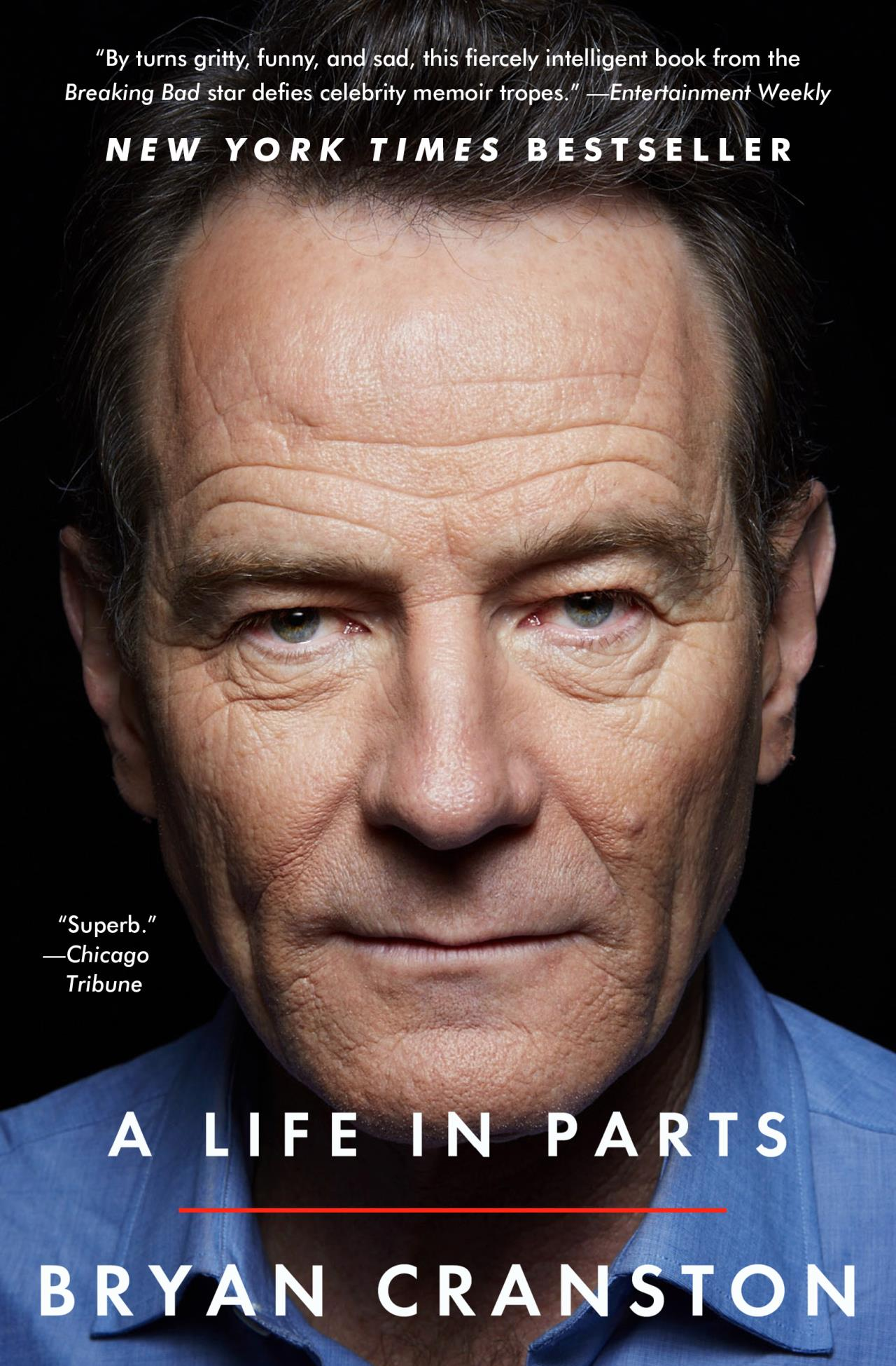 A Life in Parts pb by Bryan Cranston