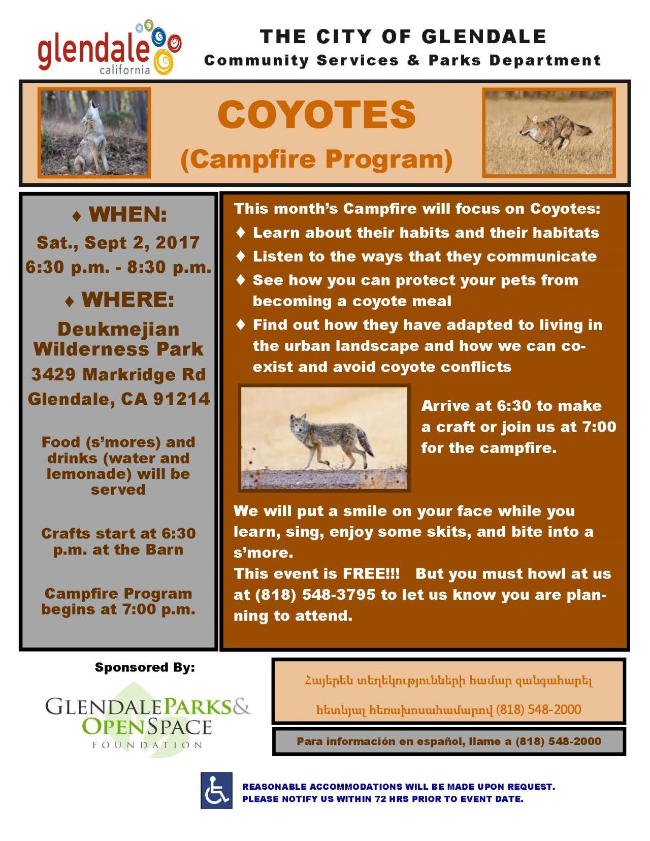Coyote Campfire Sept2017