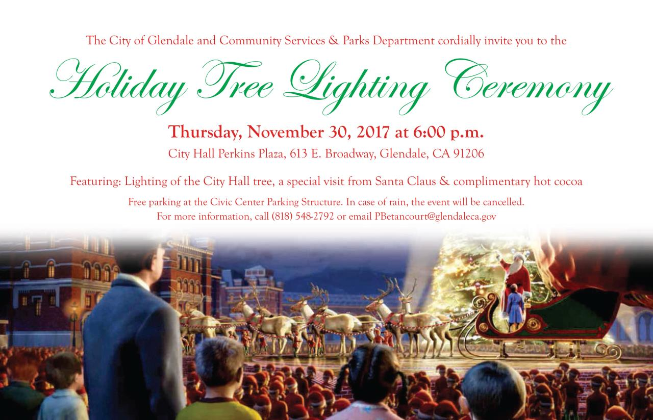 Tree Lighting 2017