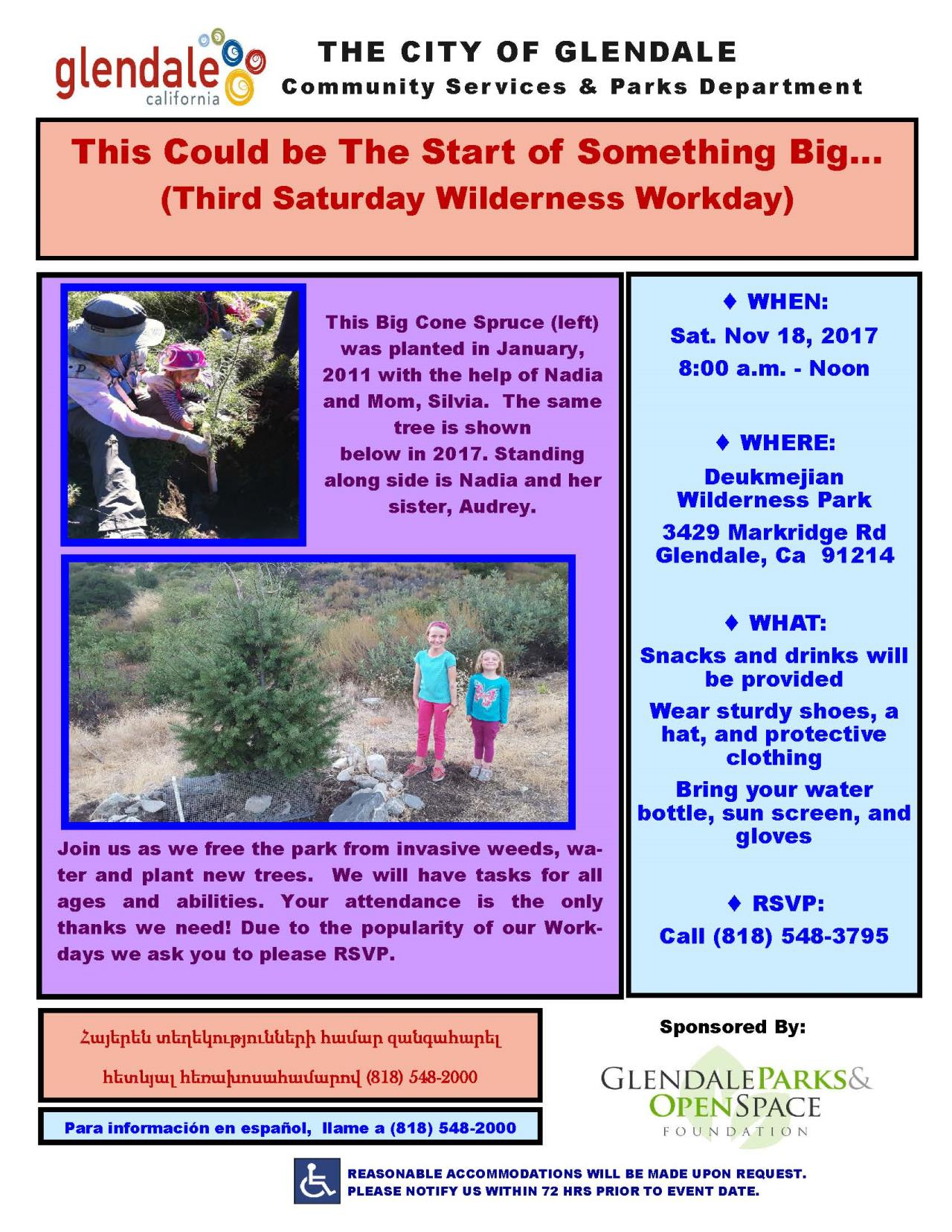 2017 11 Wilderness Workday