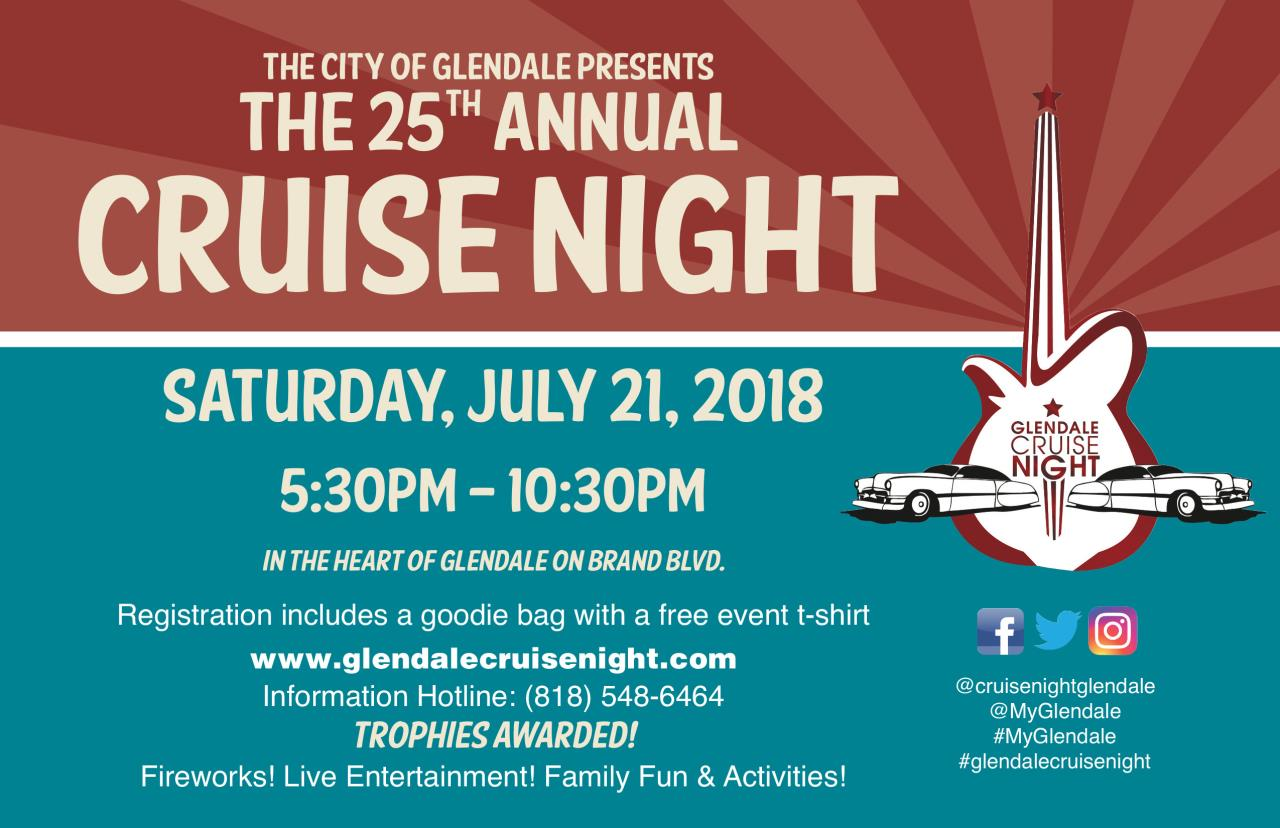 Cruise Night Save The Date Card 2018 FINAL