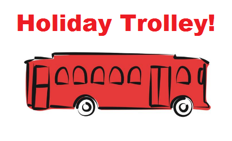 holiday trolley photo