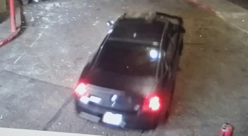 vehicle 2 pic Glendale Galleria Attempted Robbery