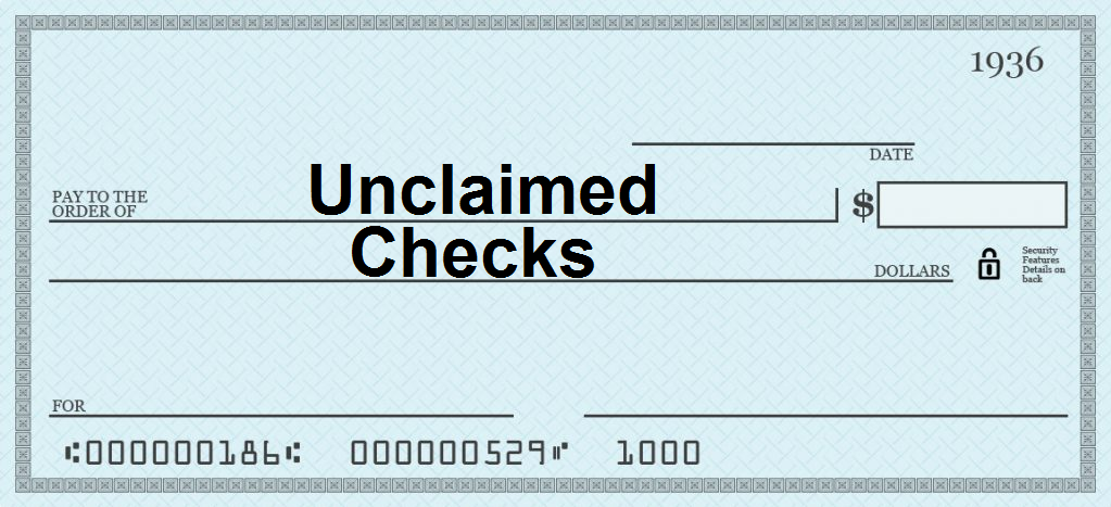 unclaimed checks