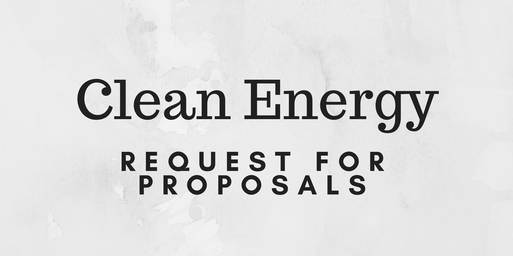 Clean Energy RFP