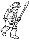 FirefighterColoringPage