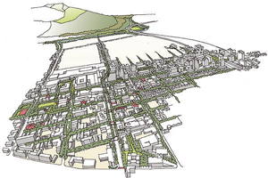 Downtown Specific Plan Aerial