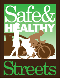 Safe and Healthy Streets Logo