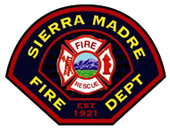 Sierra Madre Fire Department Patch