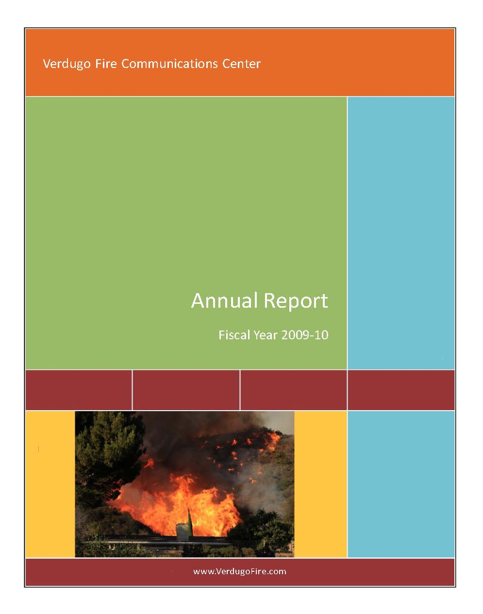 FY 2009-2010 annual report Cover