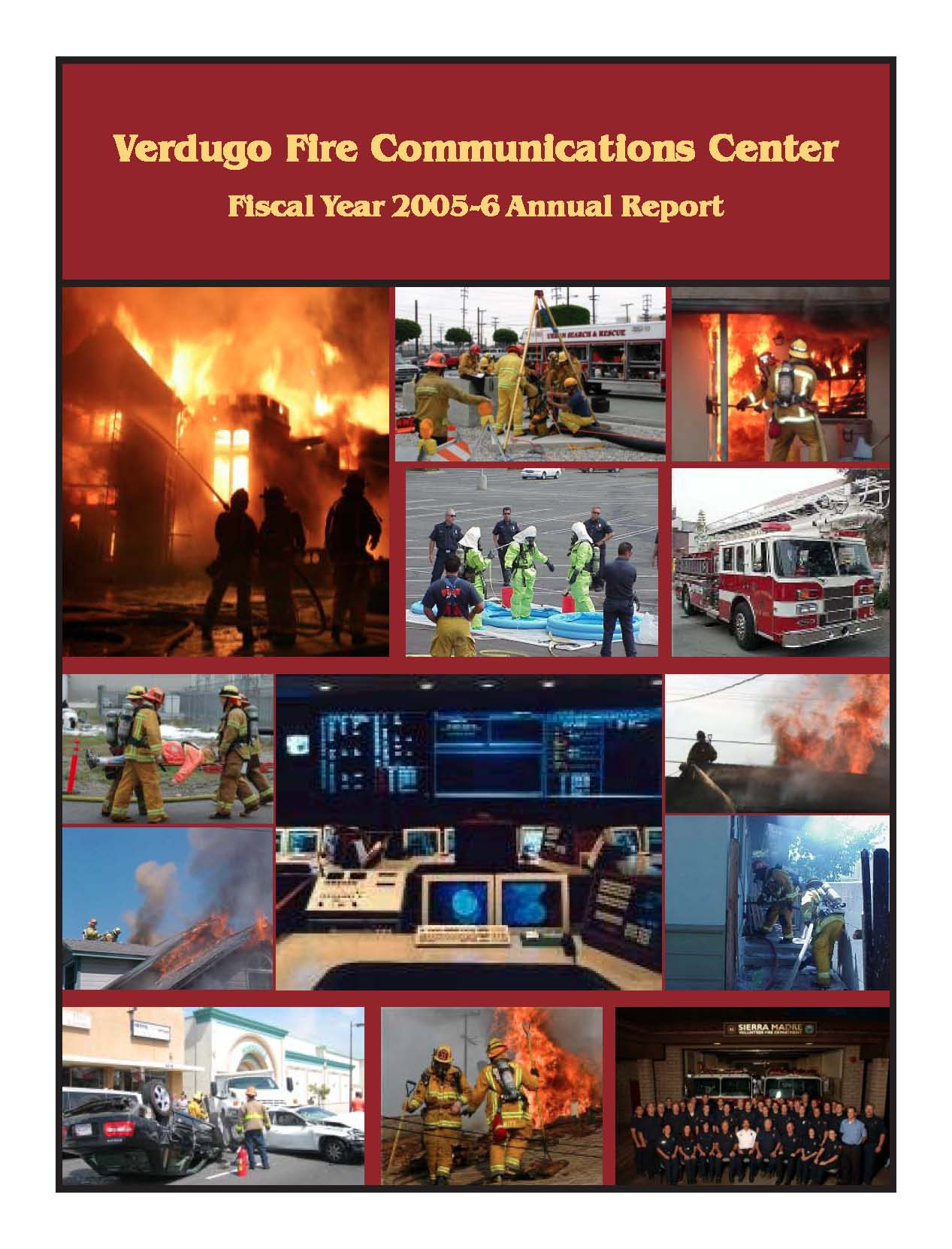 FY 2005-2006 annual report Cover