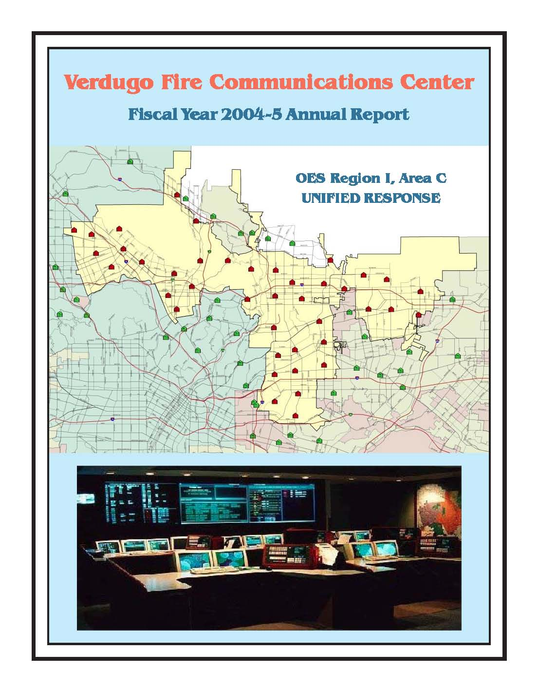 FY 2004-2005 Annual report Cover