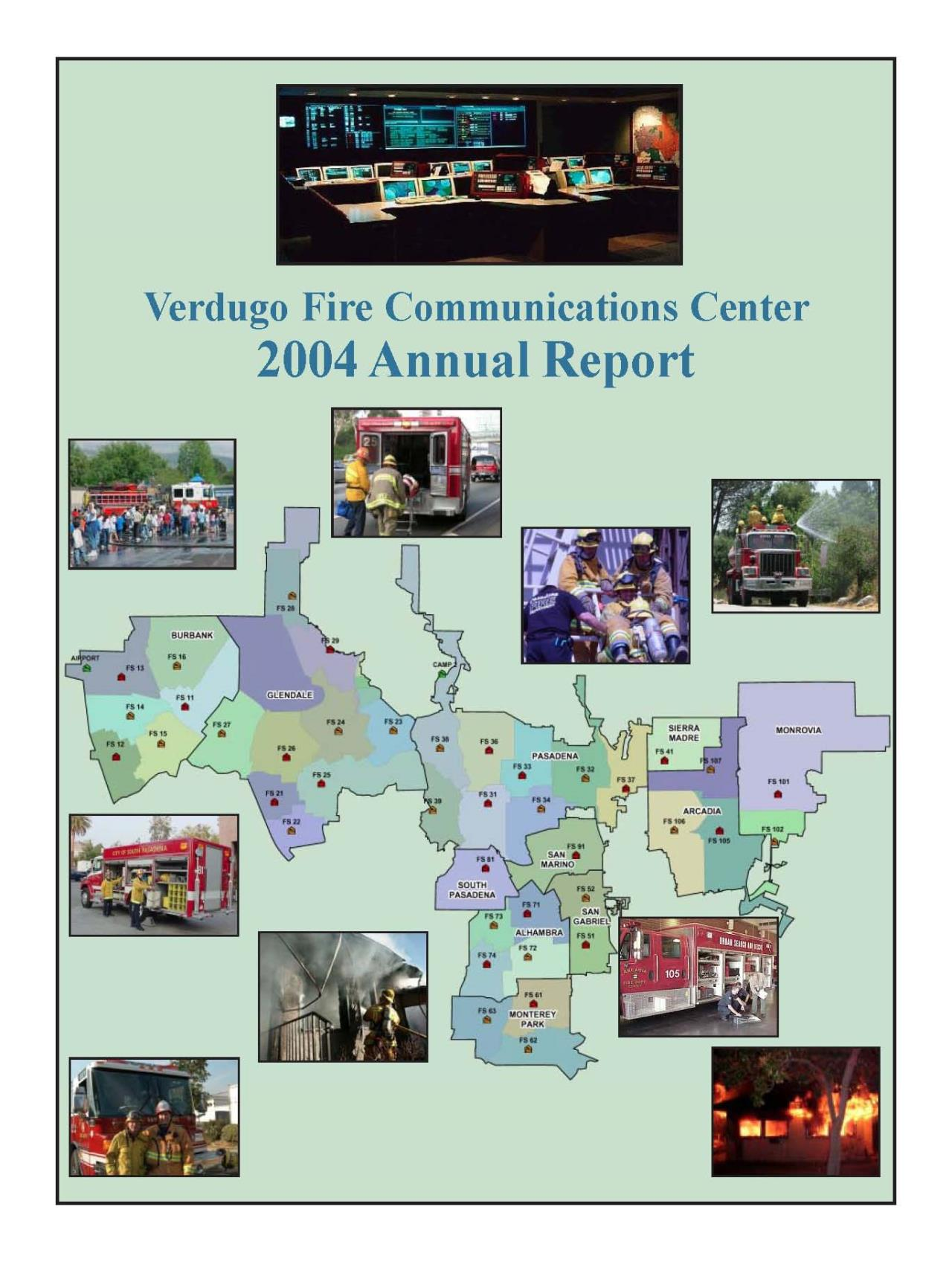 FY 2003-2004 annual report Cover