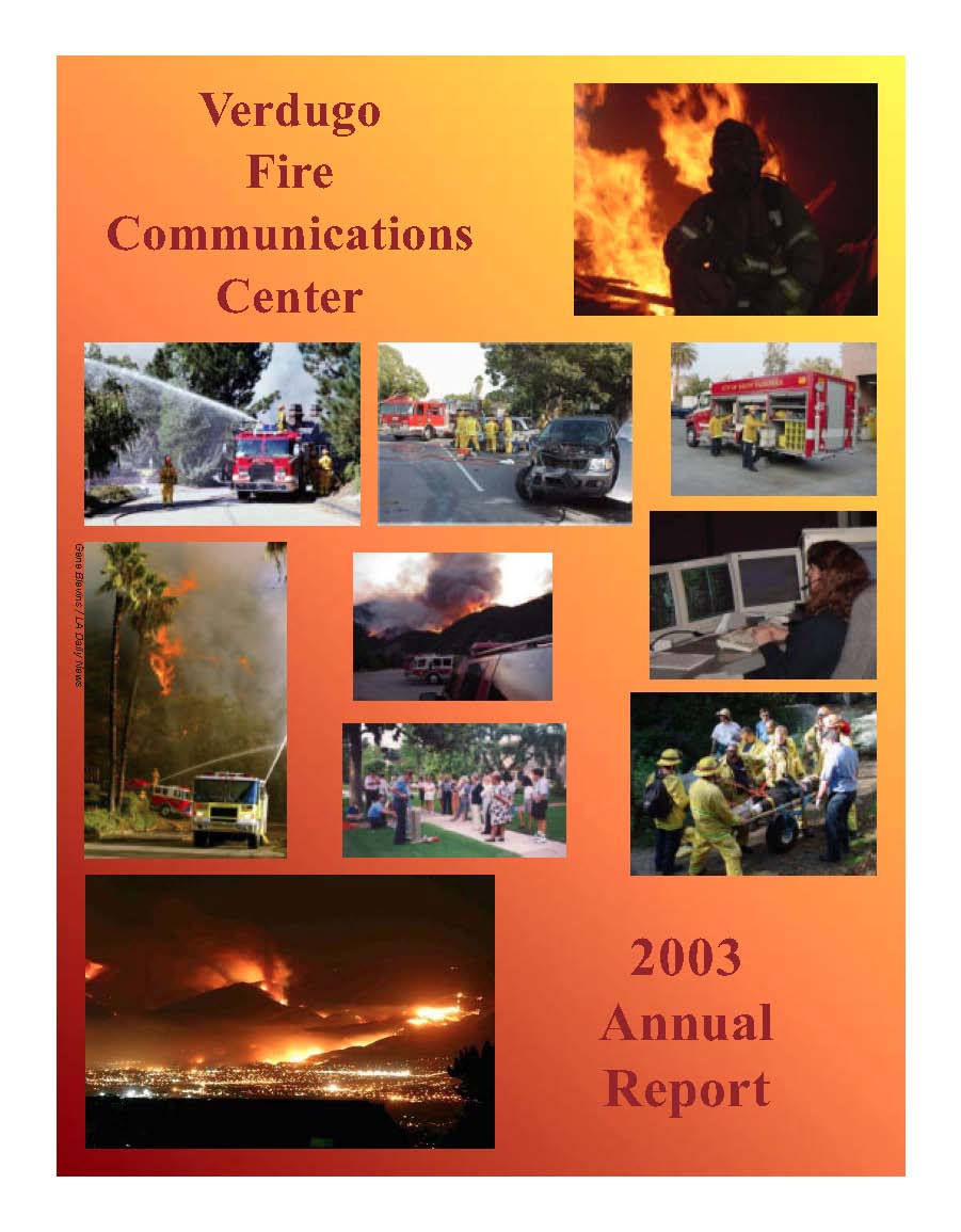 FY 2002-2003 Annual report Cover