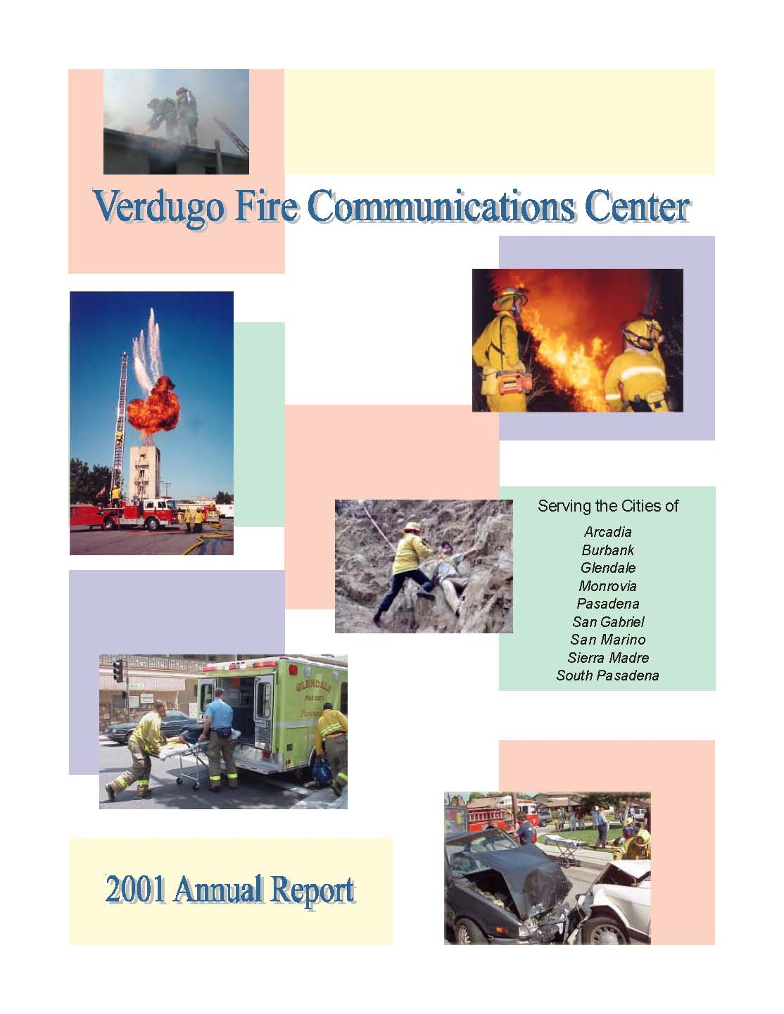 FY 2000-2001 Annual report Cover