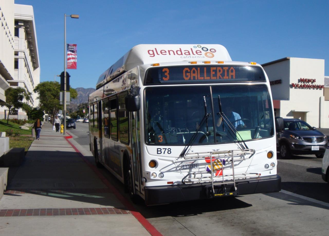 Bus Front View