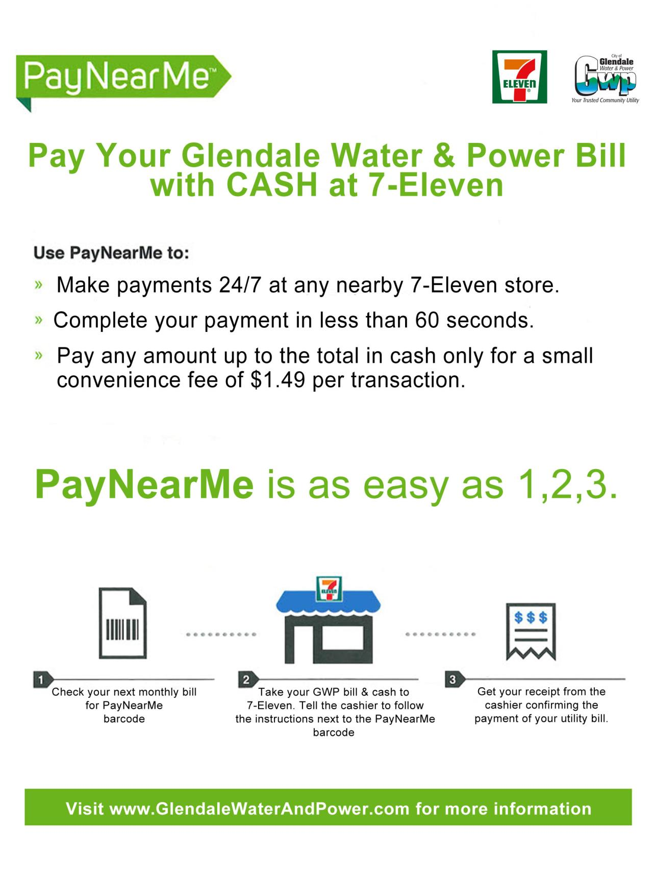 Pay Your Gwp Bill At Local 7 Eleven Convenience Stores City Of