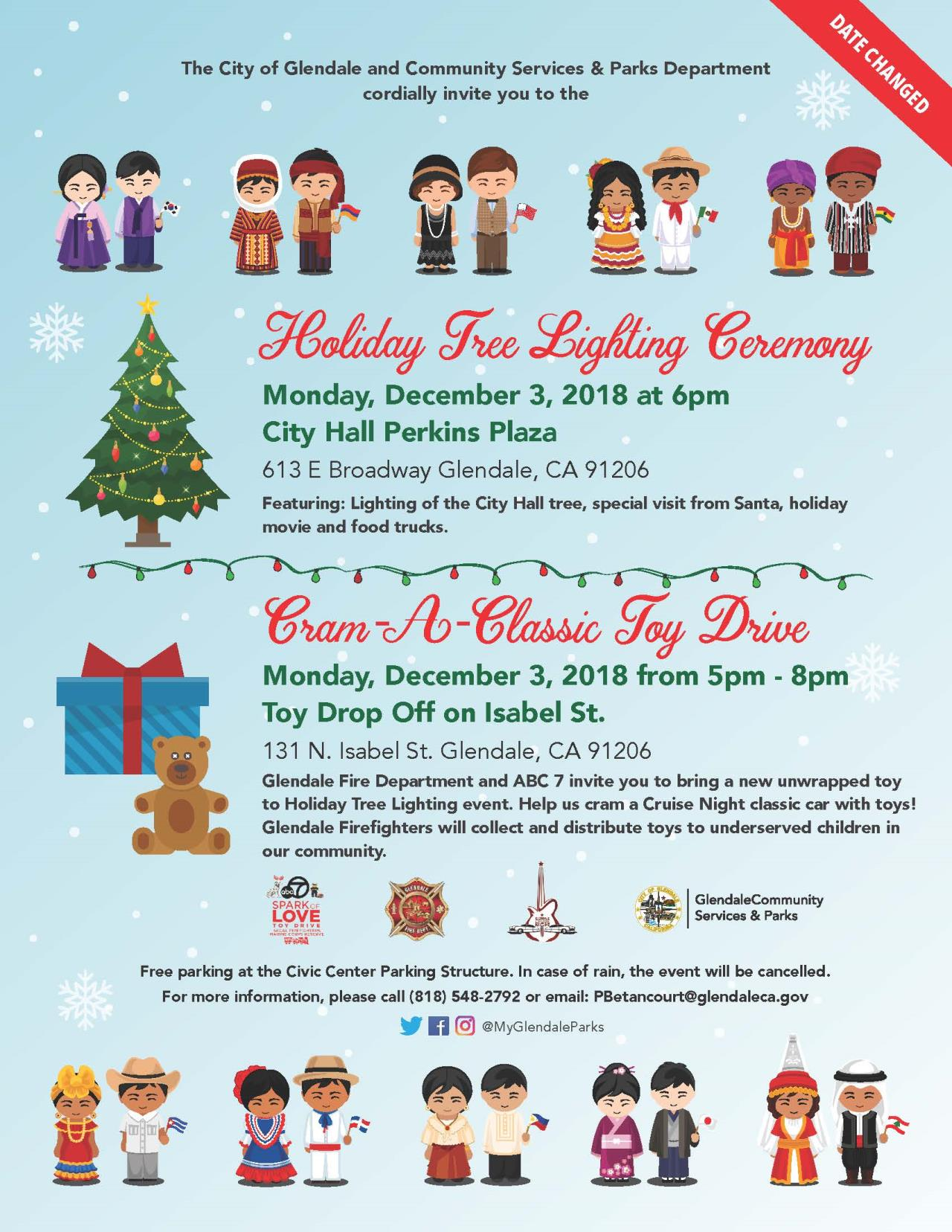 Holiday Tree Lighting Flyer2018