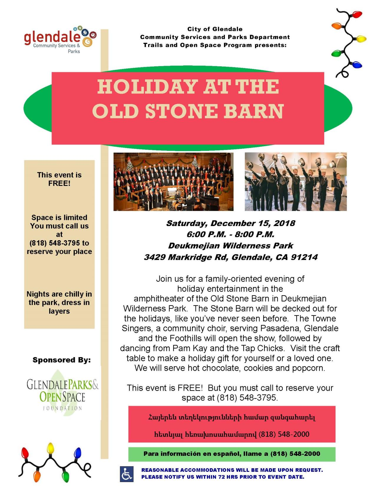 Holiday at the Old Stone Barn