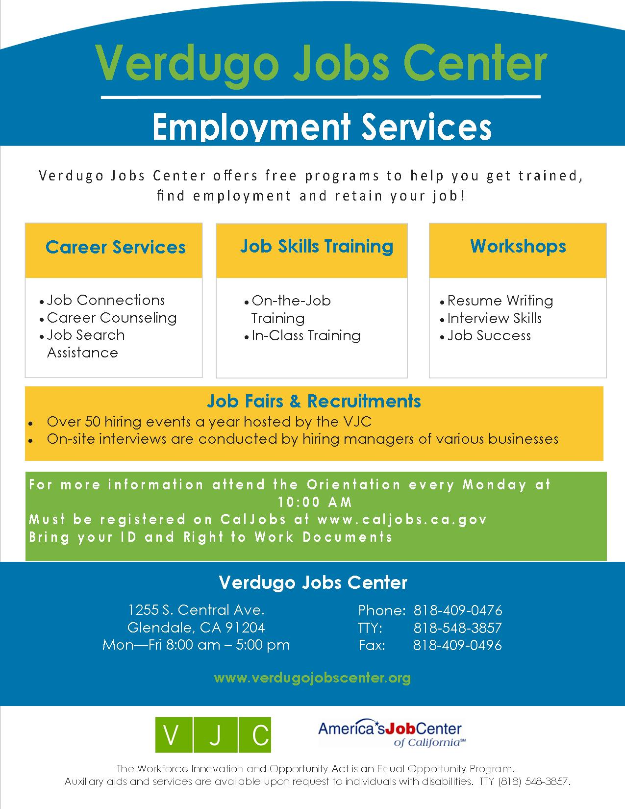 VJC Job Seeker Flyer_3square