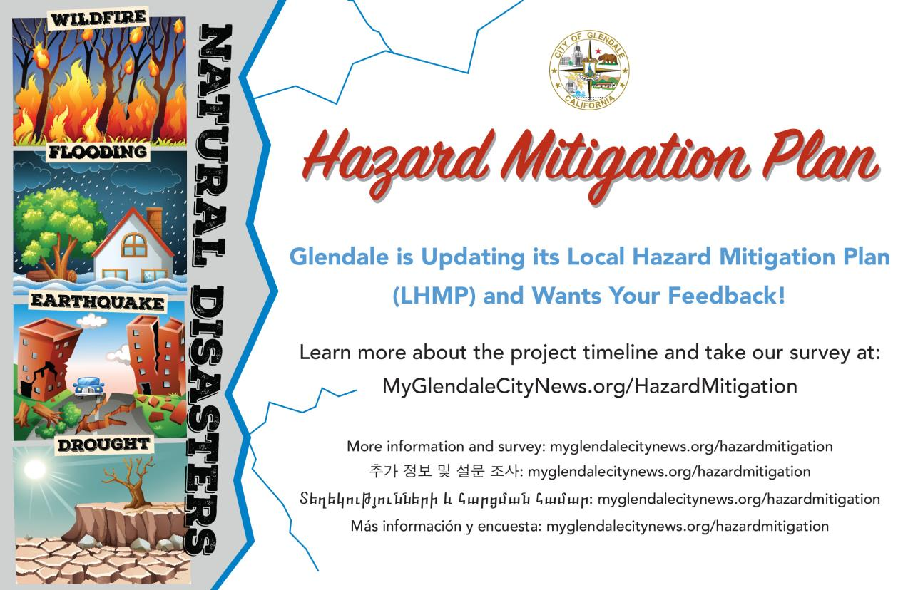 hazard mitigation flyer