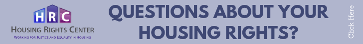 Housing Rights Center Banner