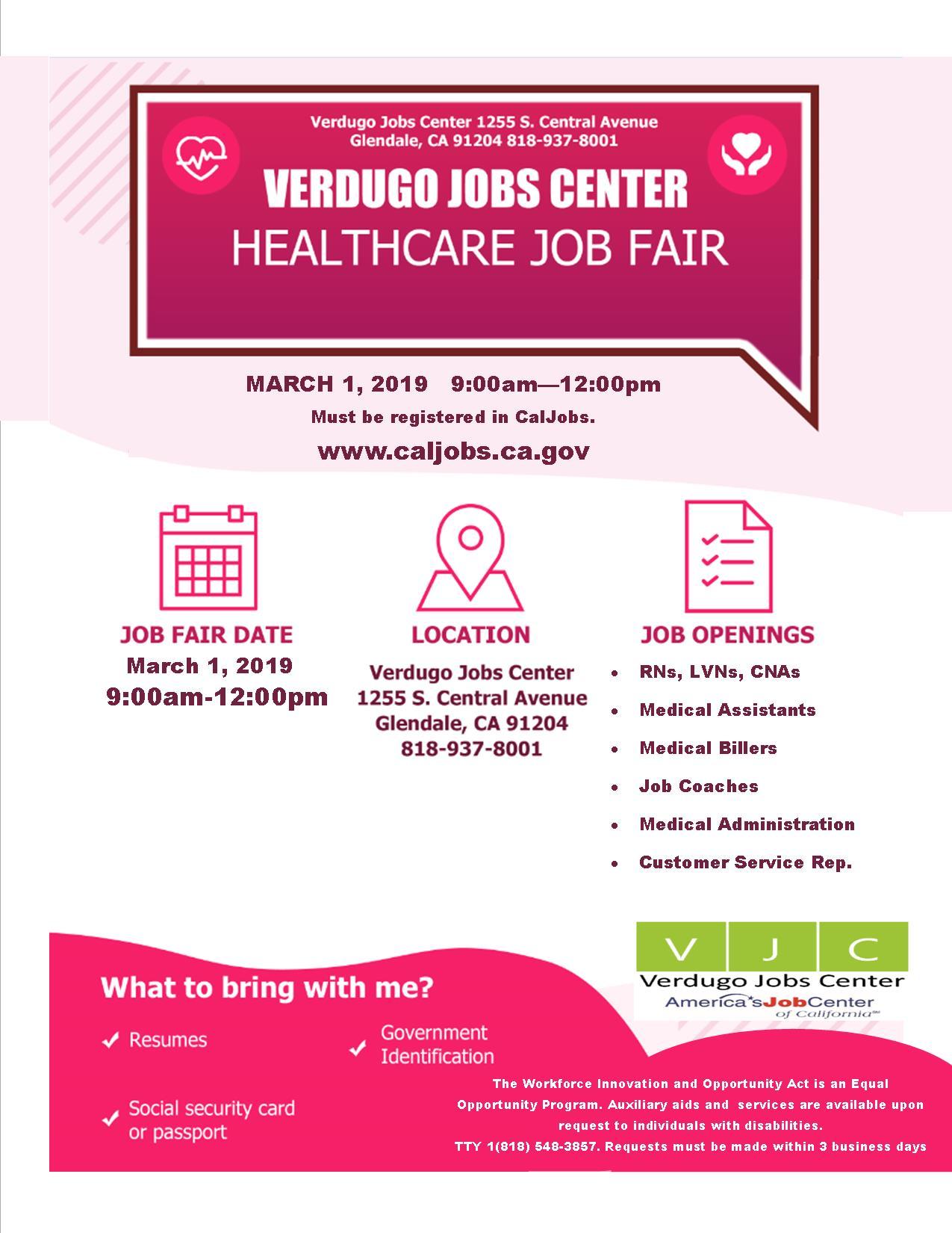 Verdugo Jobs Center