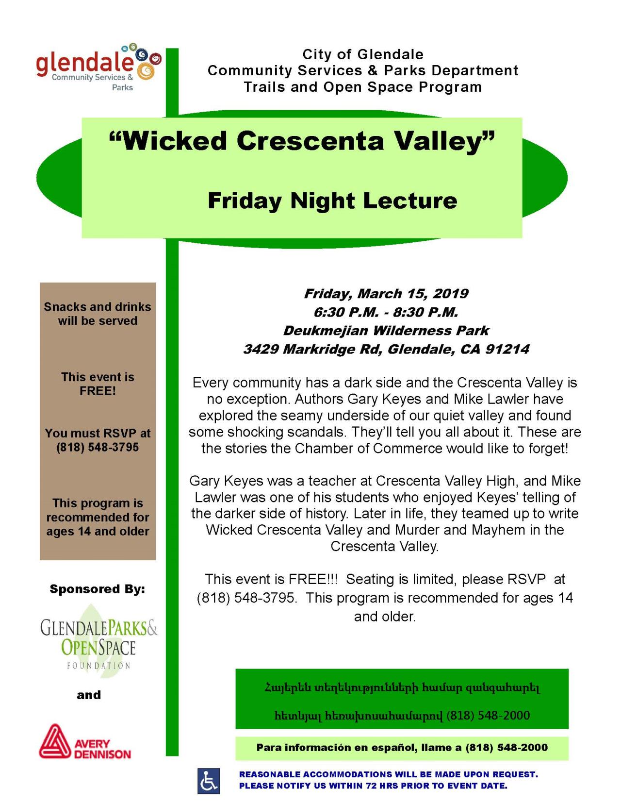Wicked Crescenta Valley