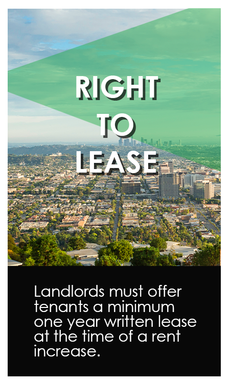 Right to Lease