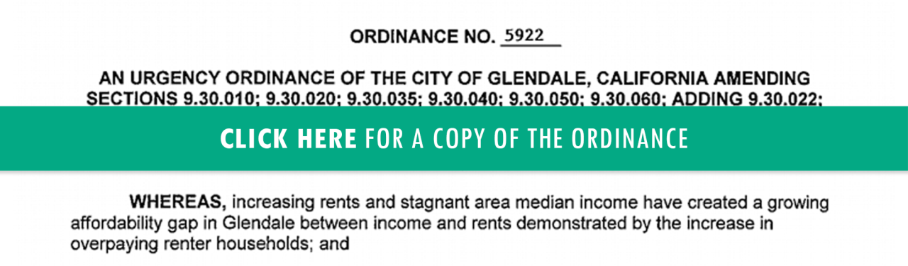 Click here for a copy of the Rental Rights Ordinance