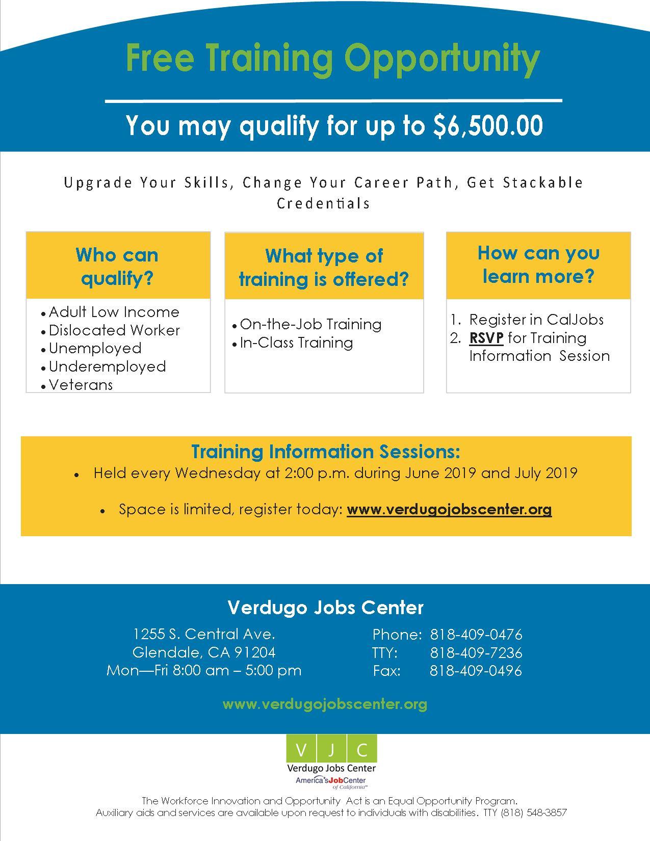 Verdugo Jobs Center | City of Glendale, CA