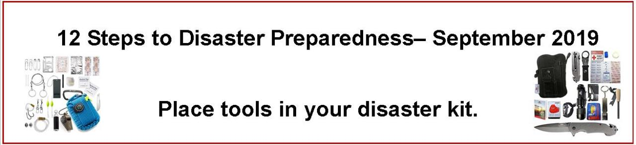 Sept Emergency Preparedness