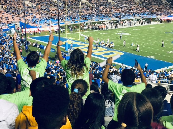 UCLA Football game 10-5-19