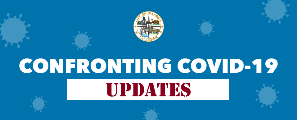 Emergency Home Page Novel Coronavirus Covid 19 City Of Glendale Ca