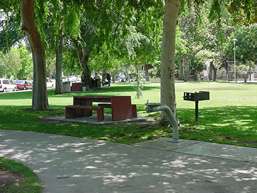 view of a park