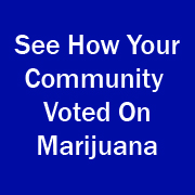 Learn how your community voted on marijuana in 2016