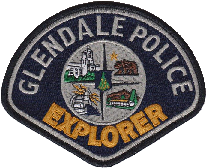 GPD Explorer Shoulder Patch