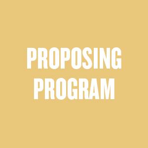 PROPOSING PROGRAM JASMINE