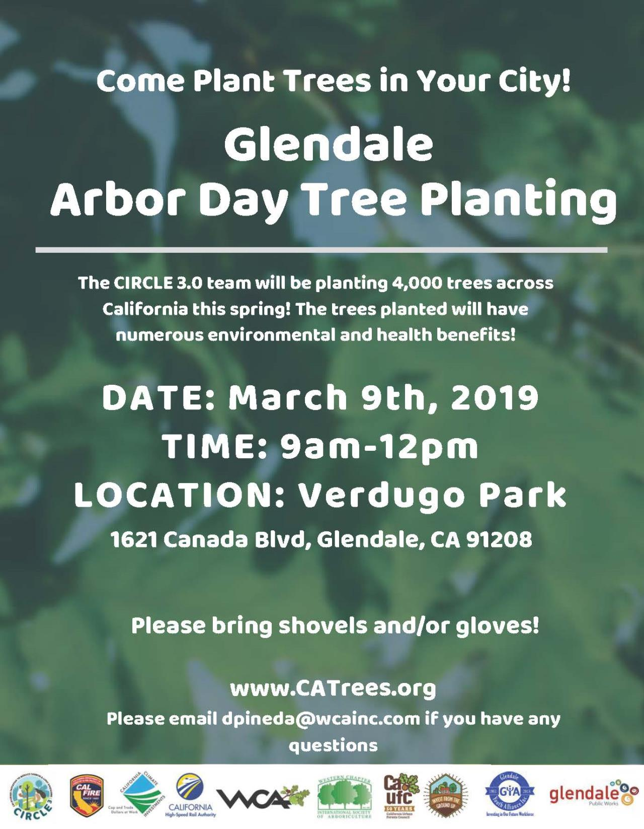 CIRCLE 3.0 Arbor Day event Glendale