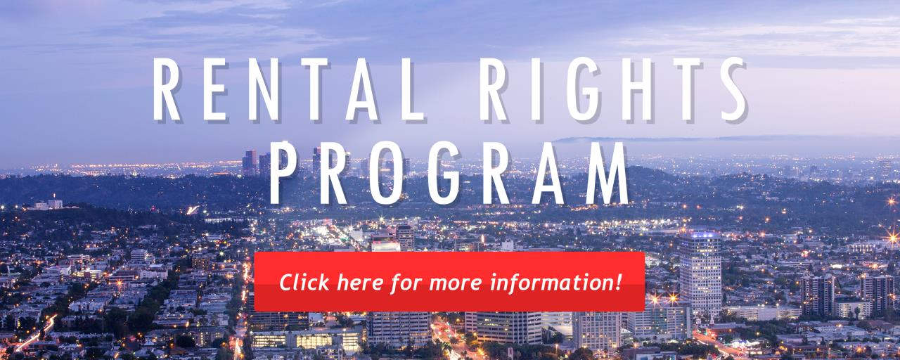 Rental Rights Program - Click Here